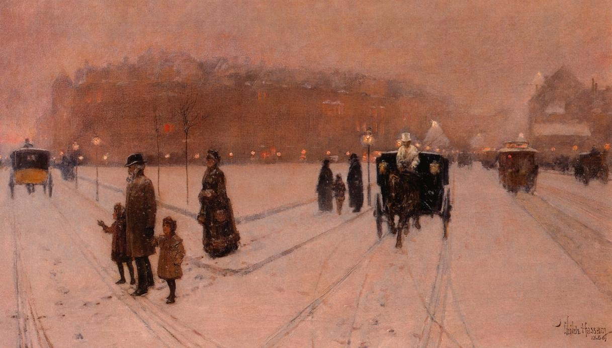 A City Fairyland, 1886 Childe Hassam